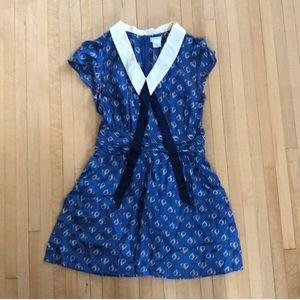 UO Silk Sailor Valentine's Dress